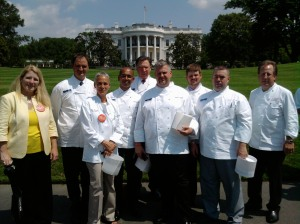 Our team at the White House